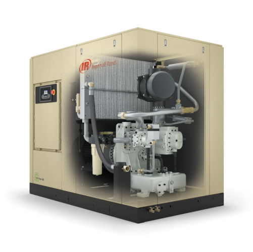 Power frequency Oil-Free Rotary Screw Air Compressors 300KW