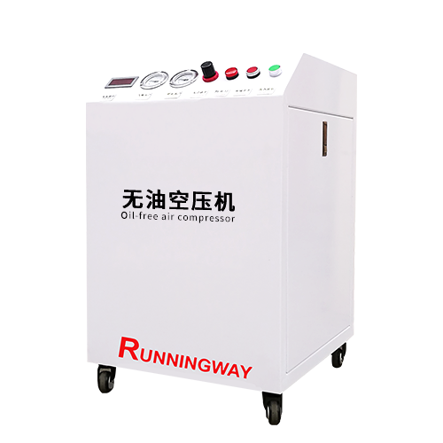 Oil-free piston air compressor RHA product line